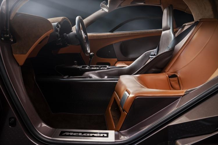 cockpit of car