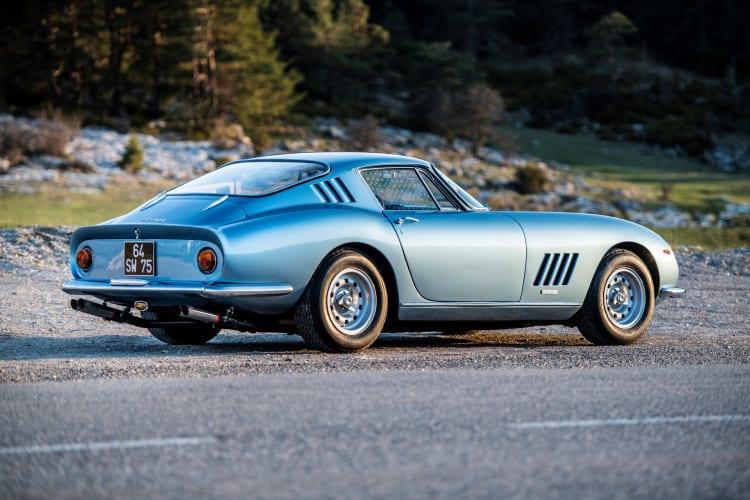 rear of 1966 Ferrari 275 GTB