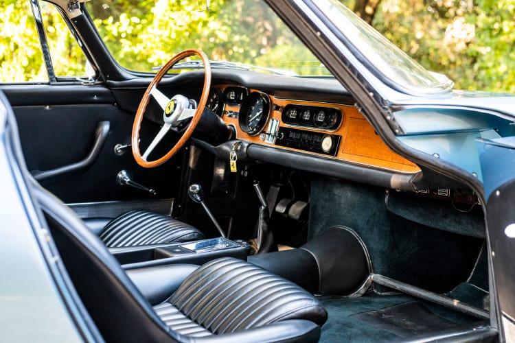 interior of 1966 Ferrari 275 GTB