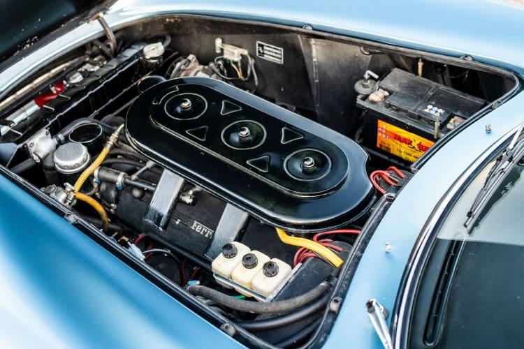 engine of 1966 Ferrari 275 GTB