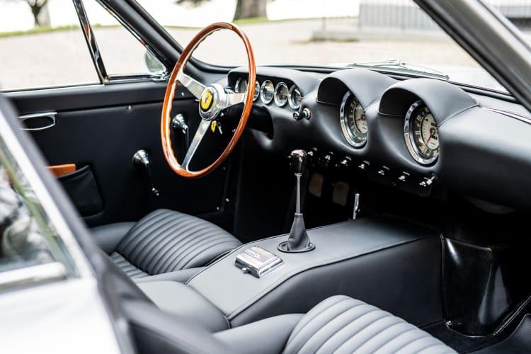 interior of 1963 Ferrari 250 GT/L Berlinetta Lusso