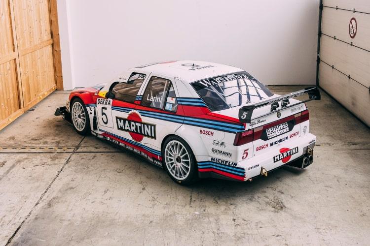 rear of 1996 Alfa Romeo 155 V6 TI ITC