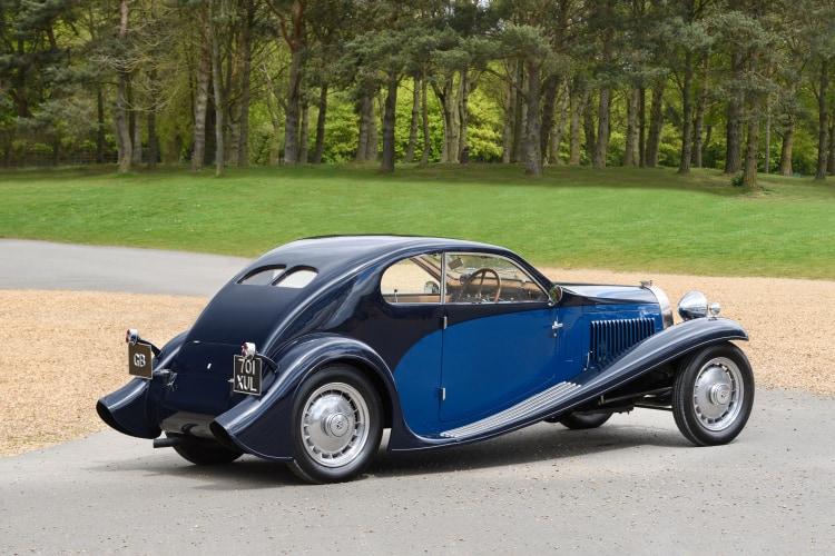 rear of 1931 Bugatti Type 46