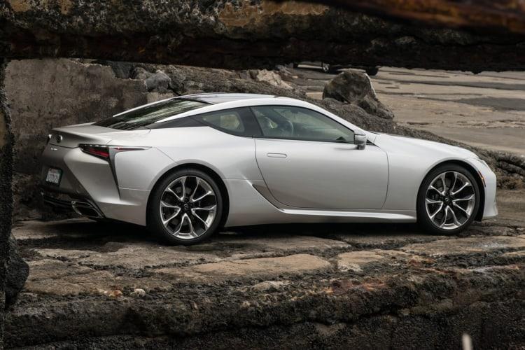 Best luxury sports car in 2021 is a lexus lc 500
