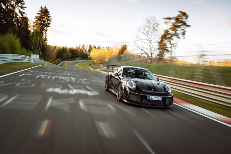 Porsche Smashes the Nurburgring Lap Record