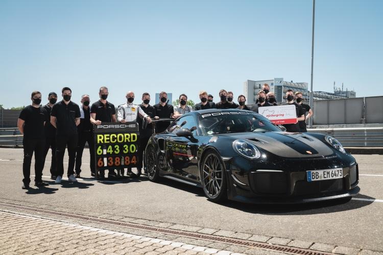 Porsche lap record