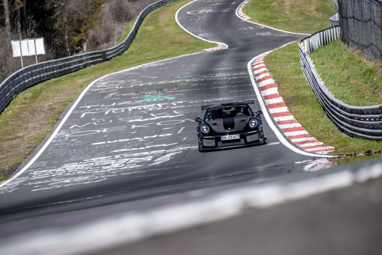 racing around the Nurburgring