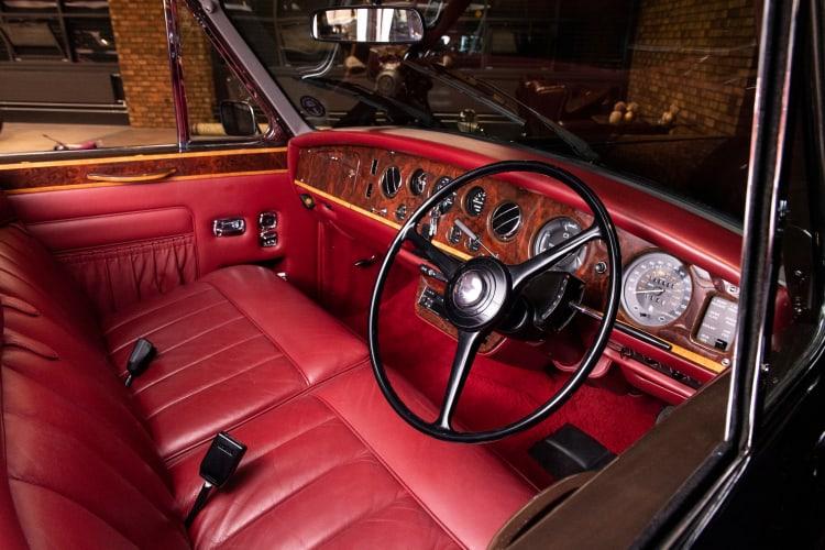 inside 1990 Rolls-Royce Phantom VI Special Limousine