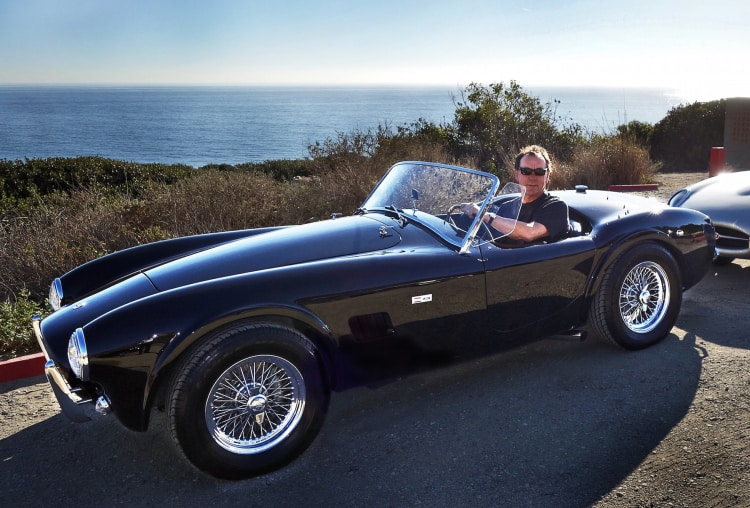 1964 Shelby Cobra 286 with Neil Peart