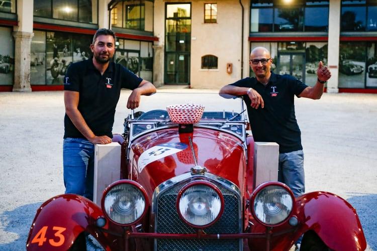 Andrea Vesco and Fabio Salvinelli
