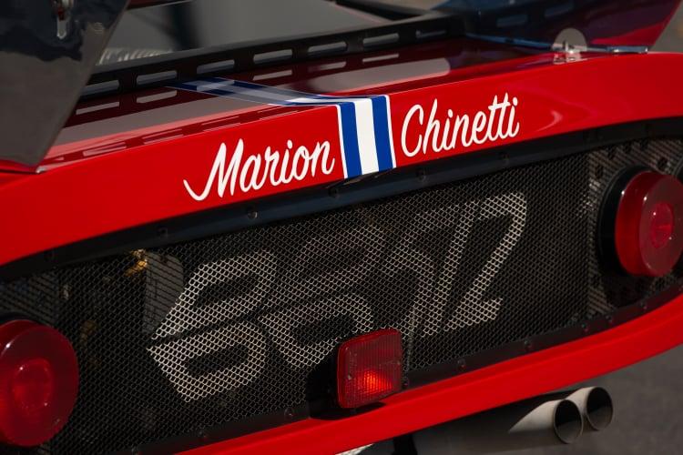 rear of 1981 Ferrari 512 BB/LM