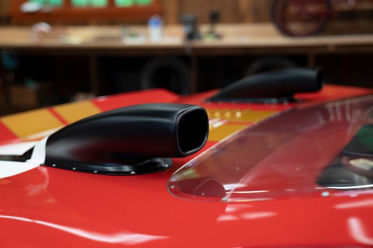 rear of 1966 Ford GT40 Alan Mann Lightweight