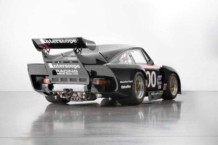 rear of 1980 Porsche 935 K3