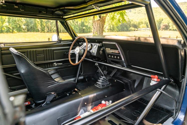 interior of 1967 Chevrolet Camaro Z/28 Trans Am