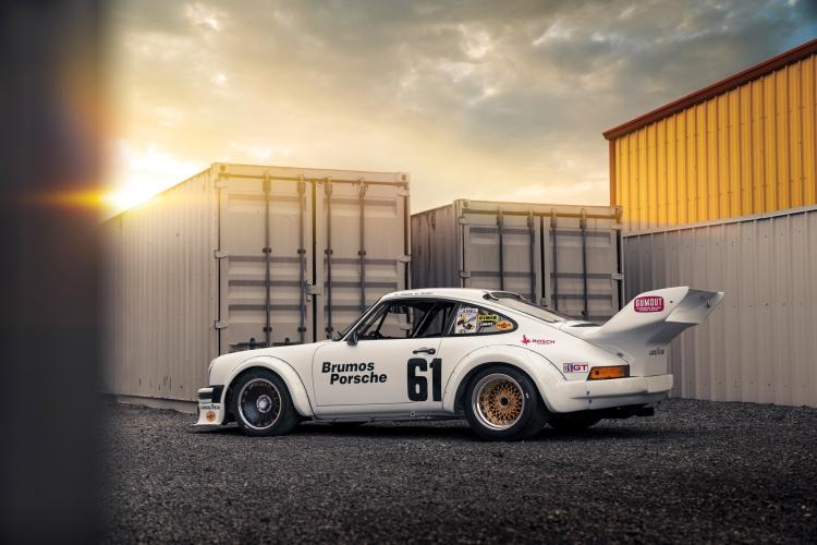 side of 1977 Porsche 934/5