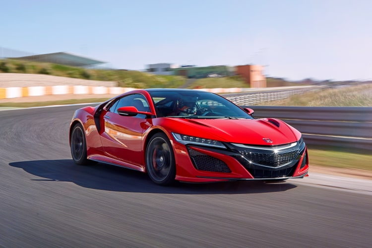 the best Honda sports cars are the second generation Honda NSX
