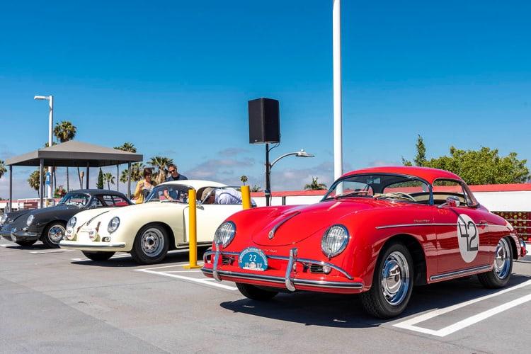 Porsche 356 in carpark