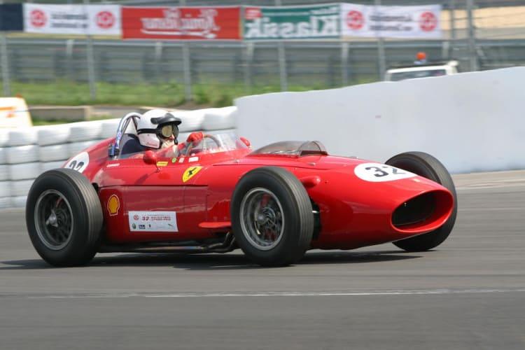 racing the 1957 Ferrari Dino