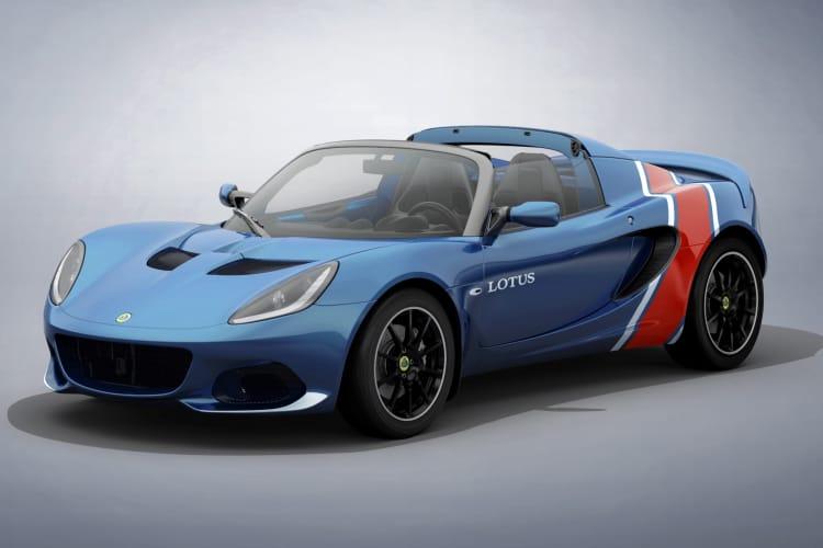 Lotus Elise is a T top car