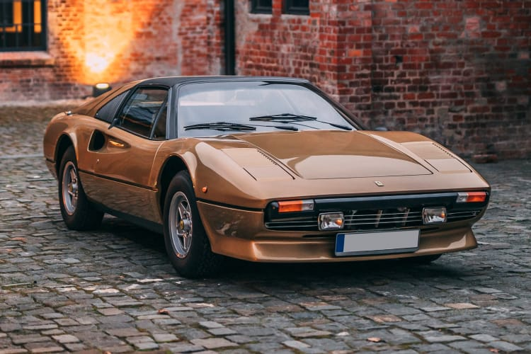 Ferrari 308 GTS is one of the t top cars to rank