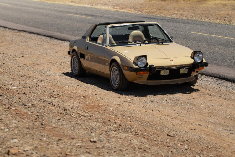 Fiat X1/9 is our 8th T top cars picked