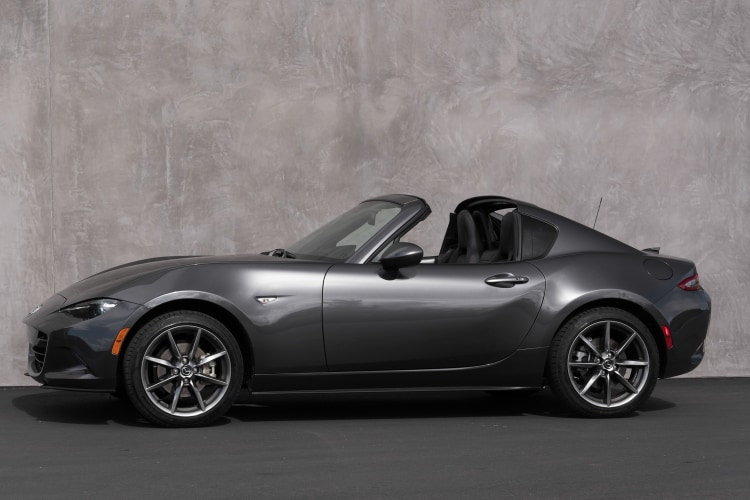 T top cars number 10 is theMazda MX 5