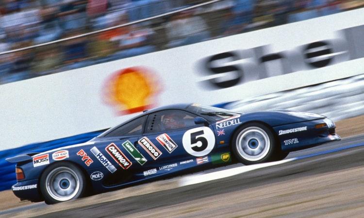 racing the XJ15