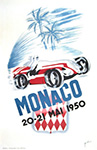 Monaco Grand Prix 1930 - Auto Racing Poster