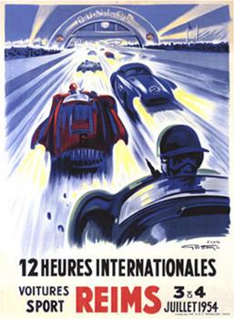 Buy 12 Heures Intl Reims 1954 at Art.com