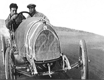 Enzo Ferrari at the Targa Florio