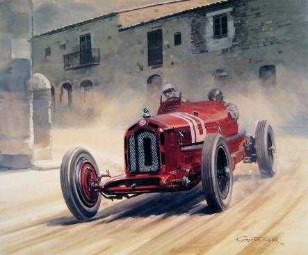 1932 Targa Florio - Tazio Nuvolari