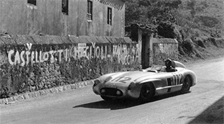 Juan Manuel Fangio, Mercedes-Benz 300SLR, 1955 Targa Florio