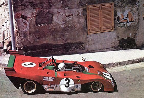 1972 Targa Florio - Ferrari 312PB