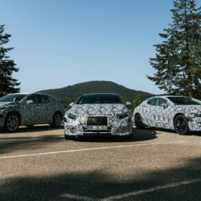 Mercedes Benz Goes All Electric