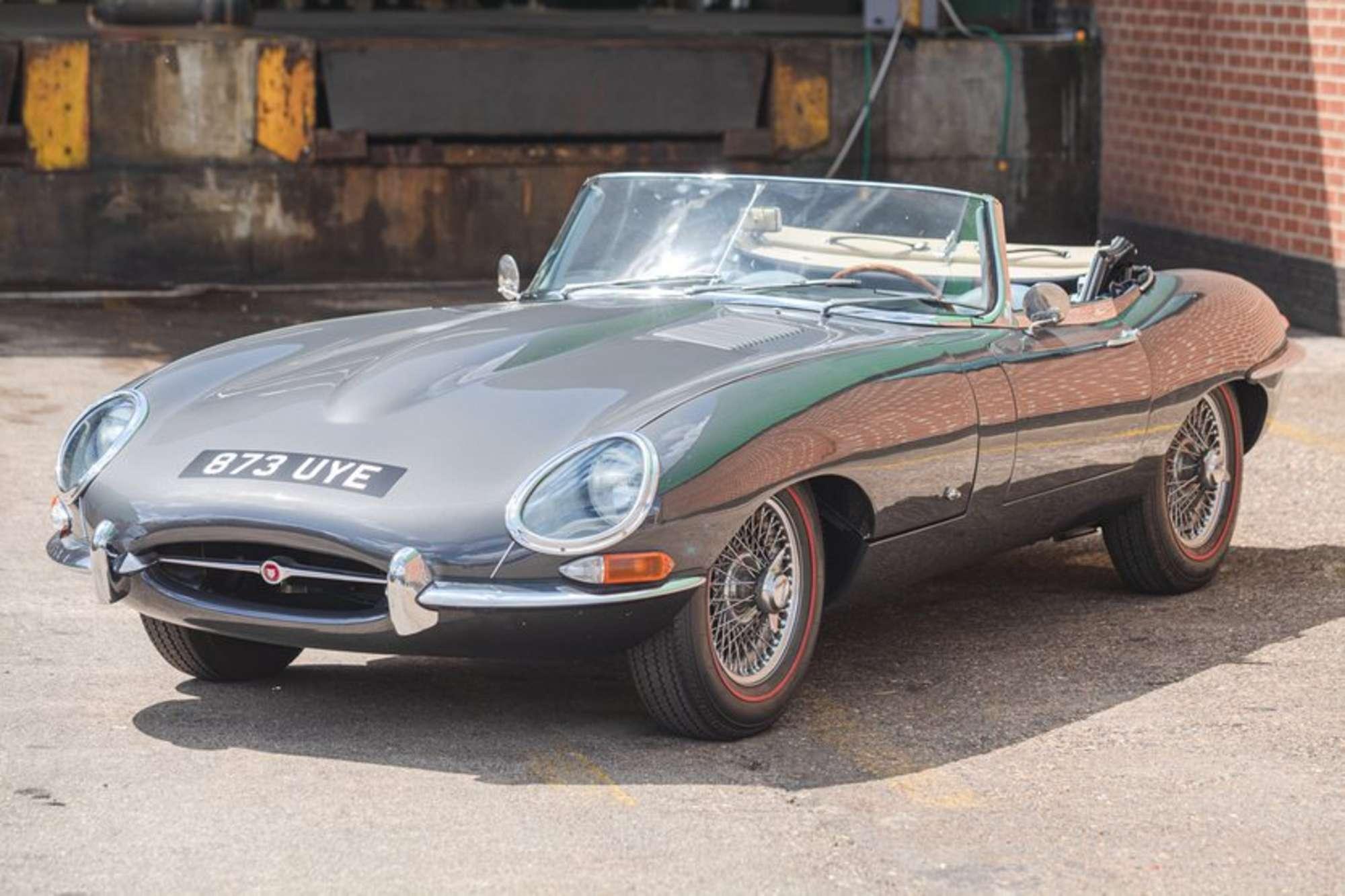 1961 Jaguar E-Type 3.8 'External Bonnet Lock' Roadster