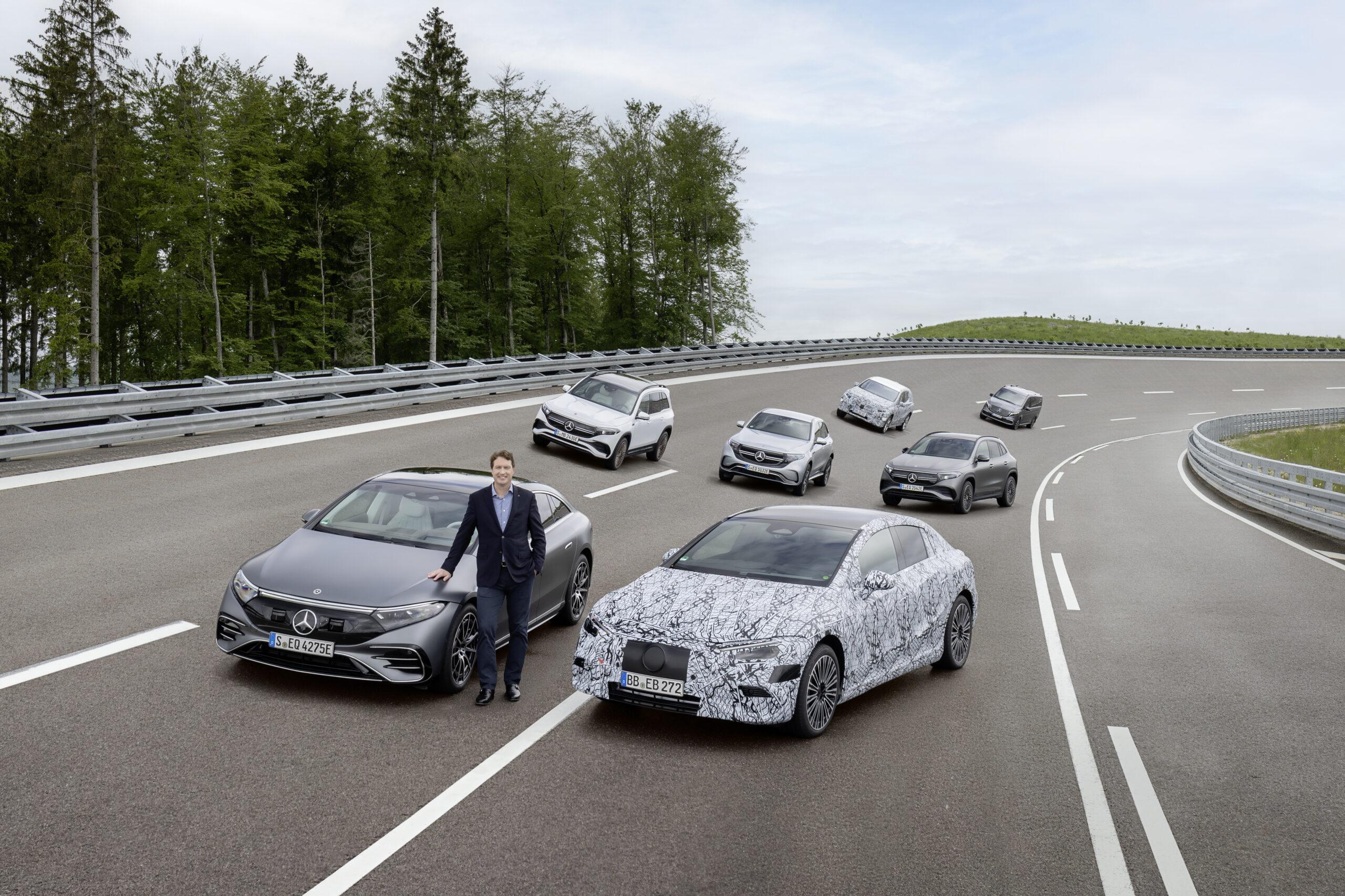 Ola Källenius, Chairman of Daimler AG and Mercedes-Benz AG