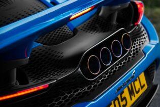 McLaren 765LT Spider rear view
