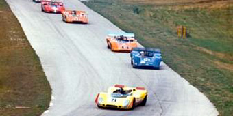 Tony Dean leads at 1970 R