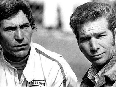 Vic Elford and Jim Hall