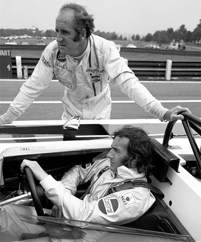 Denny Hulme & Jackie Stewart