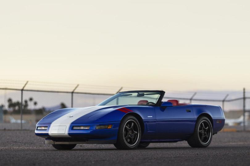 1996 Chevrolet Corvette Grand Sport Roadster left side