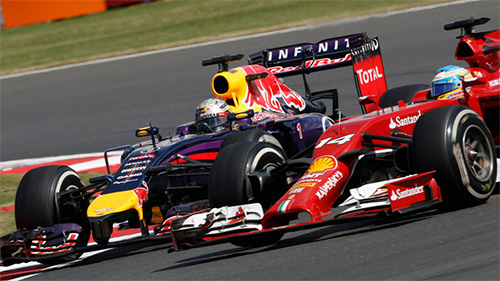 Alonso and Vettel