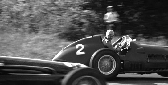 Ascari at Indianapolis