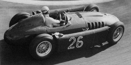 Ascari in Lancia D50 at Monaco - 1955