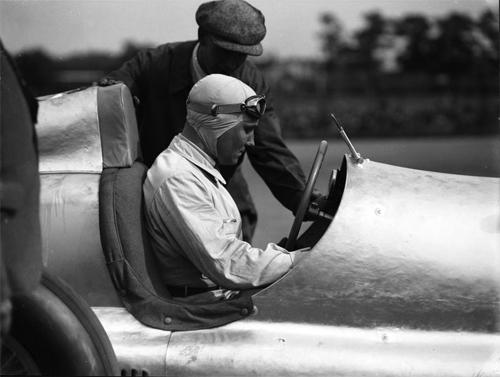 "The ""winner"" von Brauchitsch with Lang prior to his disqualification"