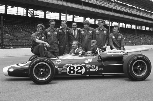 Team Lotus at Indianapolis