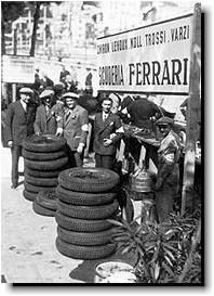 Scuderia pits - Monaco 1934