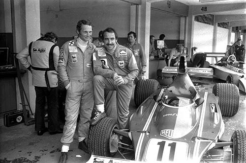 Lauda and Regazzoni