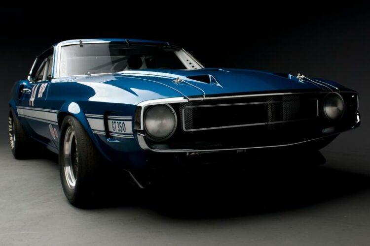 1969 Shelby GT350 Sportsroof SCCA B Prod Race Car front