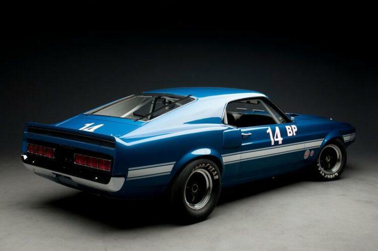 1969 Shelby GT350 Sportsroof SCCA B Prod Race Car rear-right